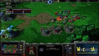 Infi(HU) vs Moon(NE) - Game 3 - WarCraft 3 Frozen Throne - RN2891