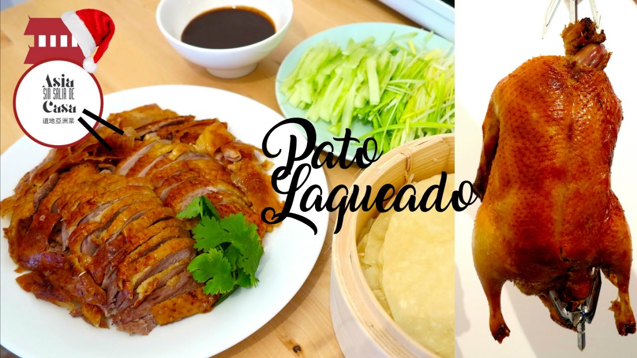 Como Hacer Pato Laqueado A La Pekinesa How To Make Beijing Roast Duck Youtube