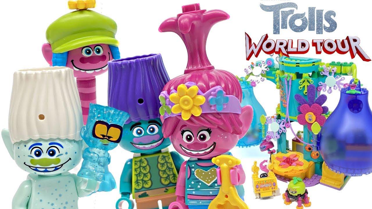 Lego Trolls Pop Village Celebration Review 2020 Set 41255 Youtube