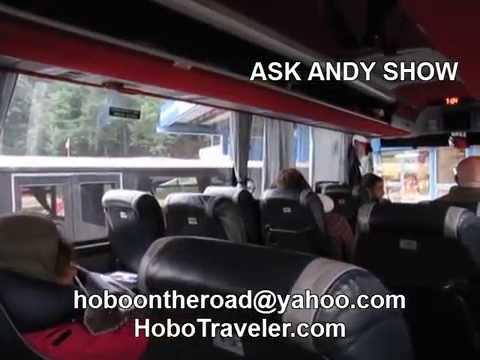 Bus Trip from Sarjevo Bosnia Herzegovina to Belgrade Serbia