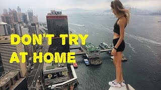 Unbelievable Videos | Top World's Most Dangerous and Scariest Stunts |