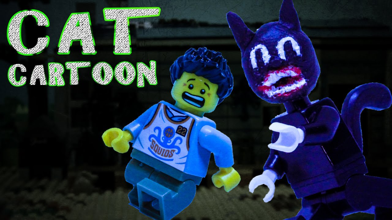 Lego Cartoon Cat Horror Stop Motion Trevor Henderson