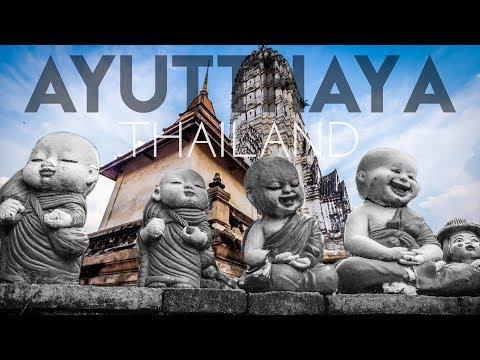 Siam's 2nd Ancient Capital   Ayutthaya, Thailand