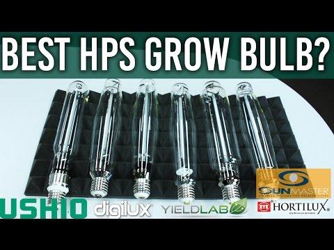 BEST 2015 HPS Grow Light Comparison Test Review