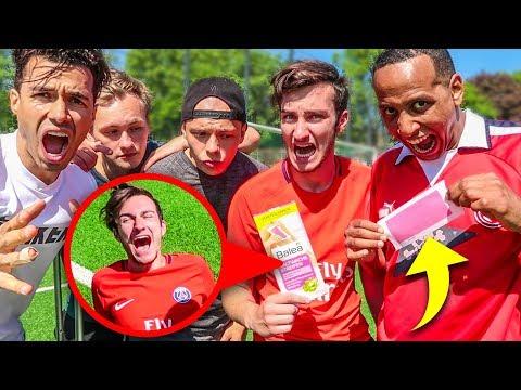 EXTREME BESTRAFUNGS FUßBALL CHALLENGE!