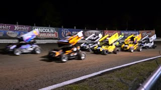 World of Outlaws Sprint Cars at Volusia Speedway Park, 2-14-2015