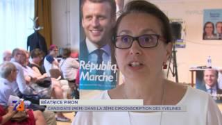 """3e circonscription : Béatrice Piron """"En Marche"""""""