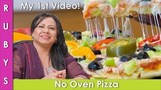 Tawa Pizza No Oven Pizza in Hindi /  Urdu Recipe  - RKK