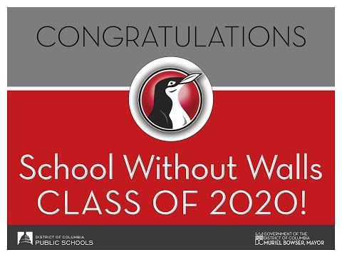 DCPS Class of 2020 Graduation - School Without Walls High School