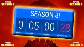COUNTDOWN UNTIL SEASON 8!!! / FREE BATTLE PASS / Fortnite: Battle Royale Season 8