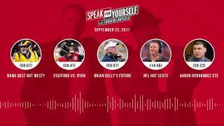 SPEAK FOR YOURSELF Audio Podcast (9.22.17) with Colin Cowherd, Jason Whitlock | SPEAK FOR YOURSELF