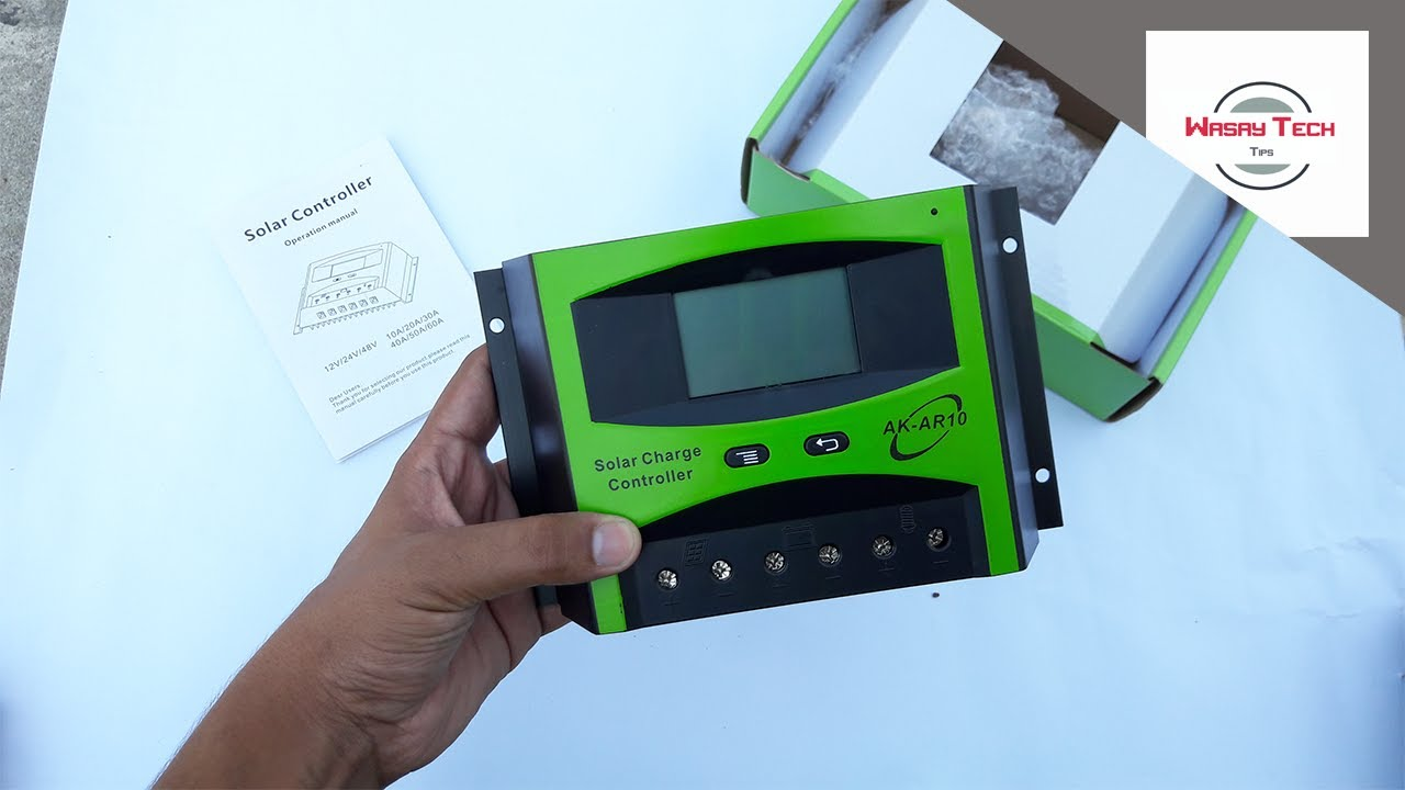 Pwm Solar Charge Controller 12v 24v For Off Grid System Controllers 12 30a Unboxing 2017