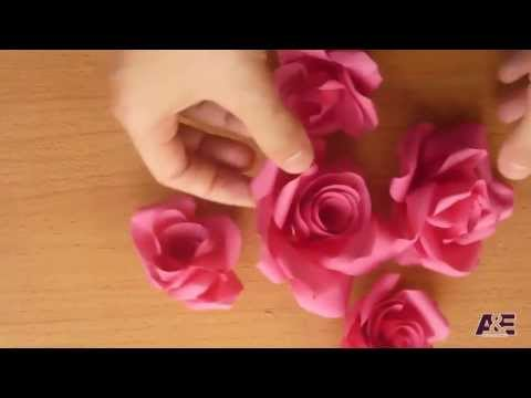 Super Easy Way to Make A  Real Rose  From Paper Tutorial