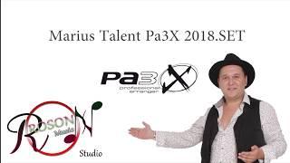 DEMO KORG Pa3X - Marius Talent Pa3X 2019.SET ( Full Video ) 0765.124.444