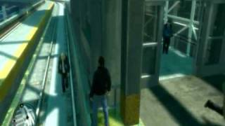 GTA 4 - Grandma Falls From Sky and Man Commits Suicide