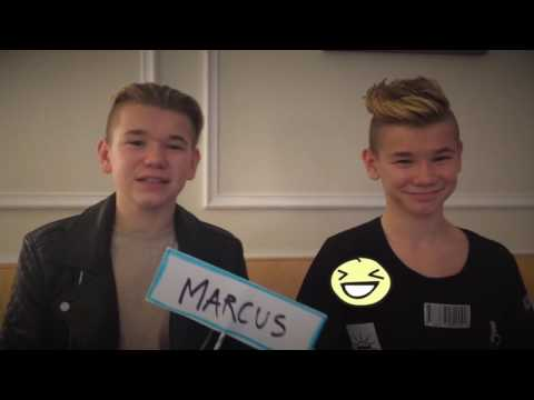 Who's the most... - Marcus & Martinus (English Subs)