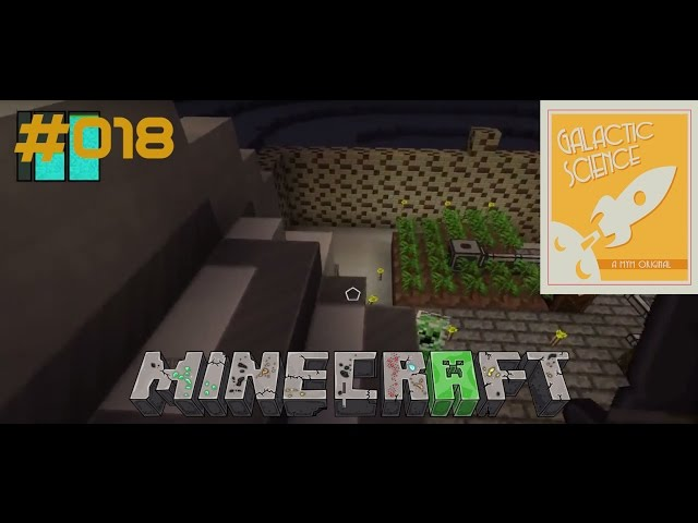Let's Play Minecraft Galactic Science | Der Strom fließt & Creeper-Explosion | Folge #018