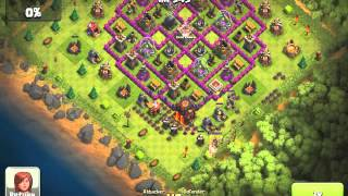 Big Clash of Clans Raid (600K of Gold and Elixir)