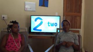 Sign language with Isabella - 10 little number