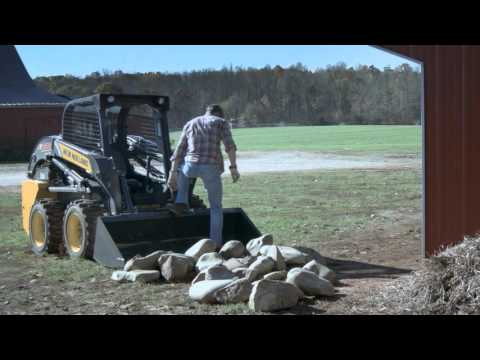New Holland proud supporter of growers and curlers (Broom & Stones)