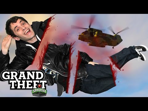 THE CHOPPY CHOPPER GAME! (Grand Theft Smosh)