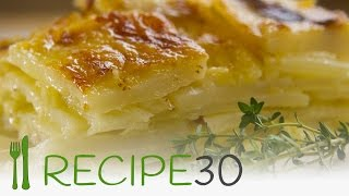 Cheesy Potato Gratin Recipe By Www.recipe30.com