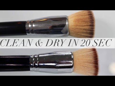 Καθαρά Και Στεγνά Πινέλα Σε 20 Δεύτερα -  Clean And Dry Brushes In 20 Sec | IzambellaChr
