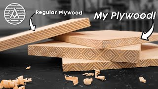 Making Edge-Grain Patterned Plywood