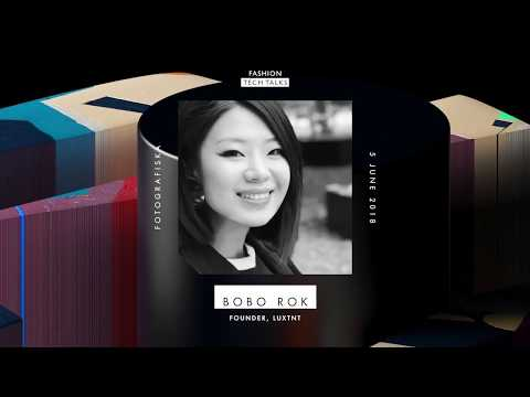 Bobo Rok, Founder of LuxTNT at Fashion Tech Talks, Stockholm, 5th june 2018