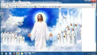 10-24-13 Rapture - Tribulation Dream, Jesus was Descending from Heaven, People rounded up!