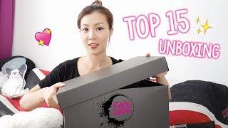 [海量化妝品] NYX Cosmetics Face Awards Hong Kong TOP 15 Unboxing   HIDDIE T