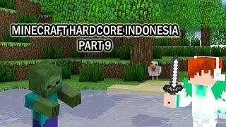 "Minecraft Hardcore Indonesia Part 9 : ""Nether Portal dan Lantai 2 untuk rumah kita!"""