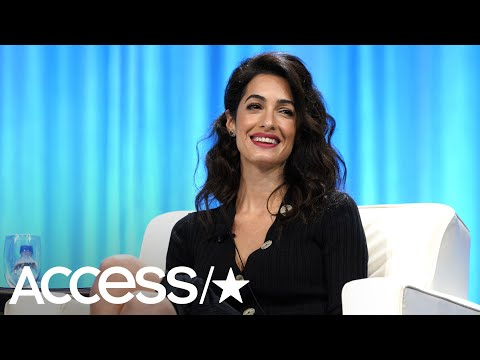 Amal Clooney Gives Stirring Speech At Pennsylvania Conference For Women | Access