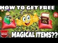 😇HOW TO GET FREE MAGICAL ITEMS? || CLASH OF CLAN ||
