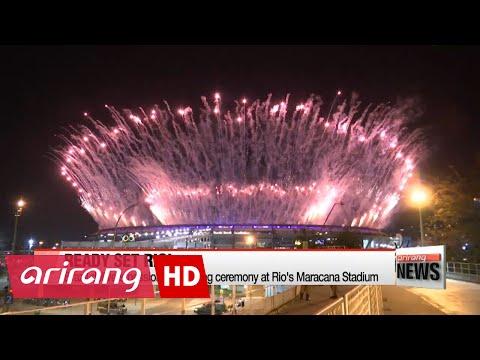 2016 Rio Olympics open with bang at Maracana Stadium