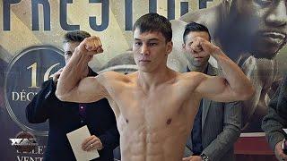 Batyr Jukembayev vs Manuel Mares Weigh In