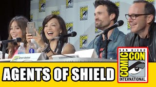 Agents of SHIELD SDCC Official Panel 2014 - Season 2