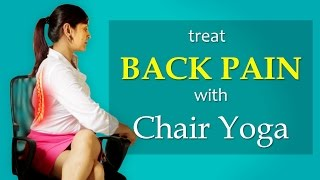Yoga Twist Workout for Back Pain Sciatica Relief  - How To Do Half Spinal Yoga Twists