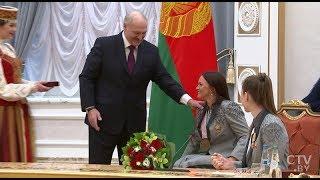 Александр Лукашенко вручил награды призёрам Игр-2018