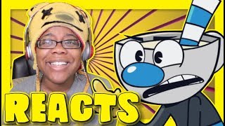 The Cursed Thirst Cuphead Parody by Piemations | Storytime Animation Reactions