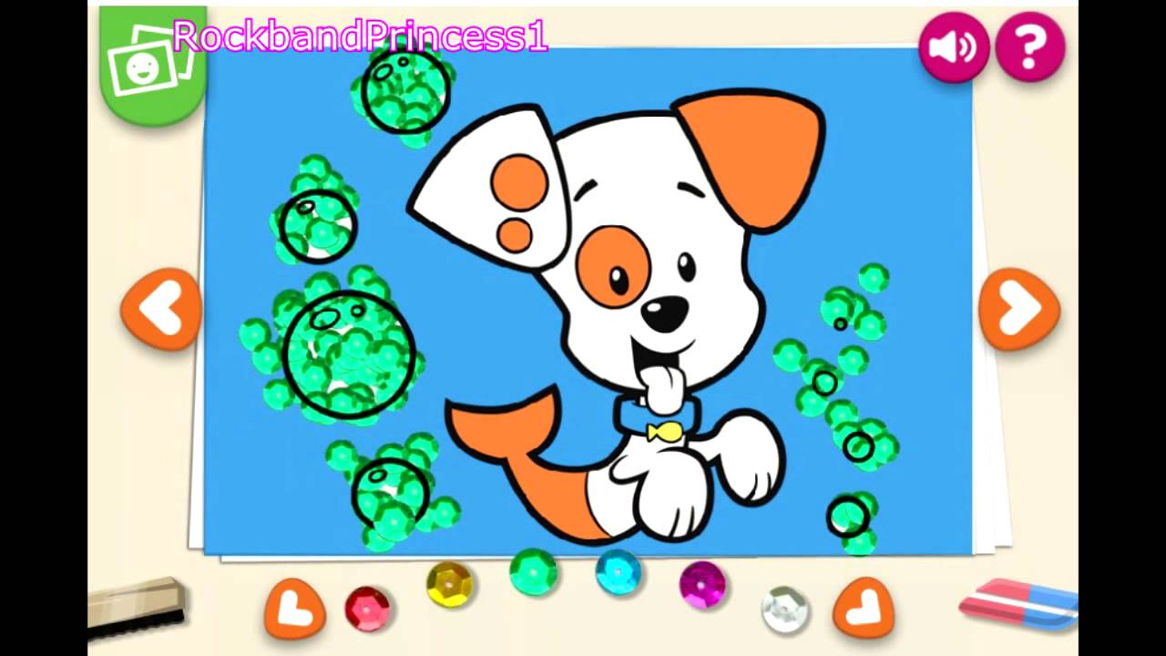 Kids Painting,Coloring,Drawing Games For Todler Preshcoolers Nick Jr ...