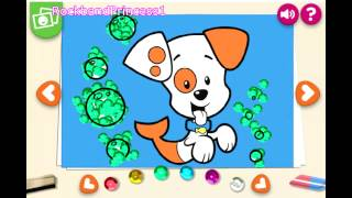 Kids Painting,Coloring,Drawing Games For Todler Preshcoolers Nick Jr Bubble Guppies