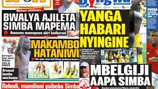MICHEZO Magazetini Jumatatu 17/12/2018:Makambo Nomaaaa!Masao Bwire Atoa Bastola