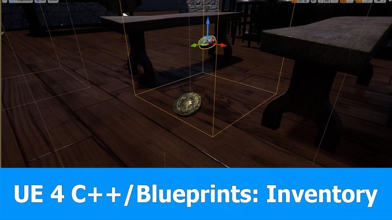 Download Unreal Engine 4 C++ & Blueprints (UE4.15): Inventory Tutorial