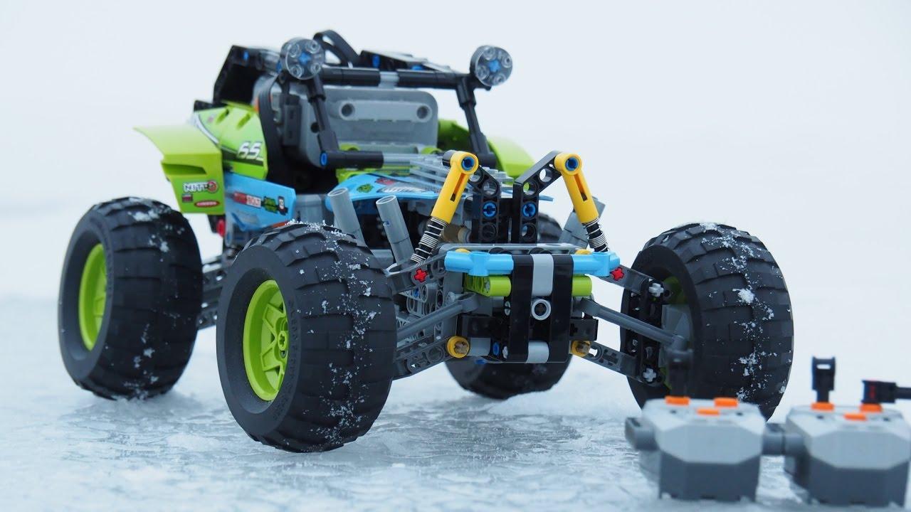 full motohrized lego 42037 offroader rc steering and. Black Bedroom Furniture Sets. Home Design Ideas