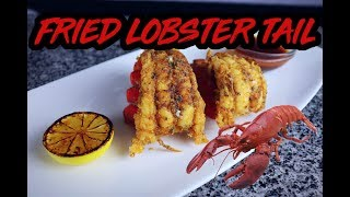 FRIED LOBSTER TAIL | IN THE KITCHEN