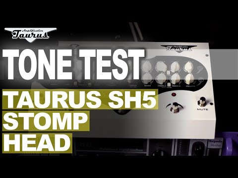 JOHN BROWNE | TAURUS SH5 GUITAR STOMP AMPLIFIER