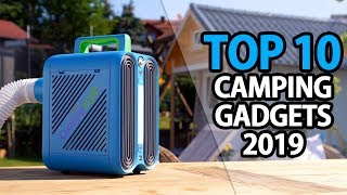 TOP 10 Coolest Camping Gadgets 2019   Coolest Camping Gear 2019   My Deal Buddy