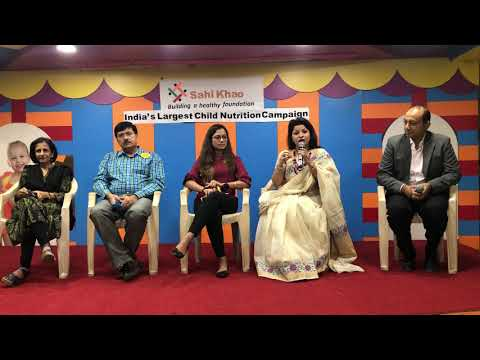 "Panel Discussion by Renowned Panelist on ""Sahi khau healthy raho """