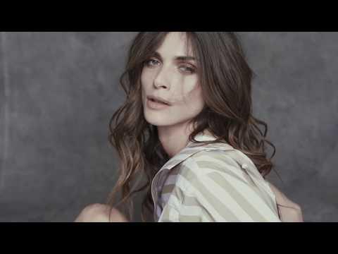 Elisa Sednaoui brings to life Albini fabrics
